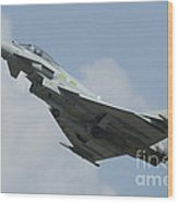 A Eurofighter Typhoon Of The Royal Air Wood Print