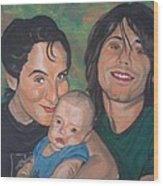 A Family Portrait Wood Print