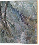 A Fantasy Storm Wood Print by Judy Paleologos
