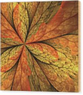 A Feeling Of Autumn Wood Print
