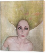 A Female Portrait Wood Print