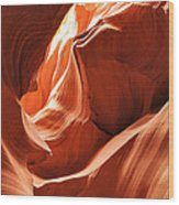 A Fine Line Wood Print