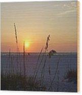 A Florida Sunset Wood Print