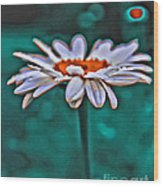 A Flower For You Wood Print