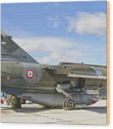 A French Air Force Mirage F1 Wood Print