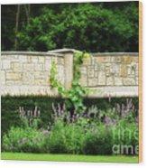 A Garden Far Away Wood Print