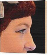 A Girl Named Meg Wood Print