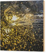 A Golden Barrel At The Wedge Wood Print