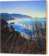 A Gorgeous Morning On The Pacific Wood Print