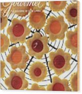 A Gourmet Cover Of Sunny Savaroffs Cookies Wood Print