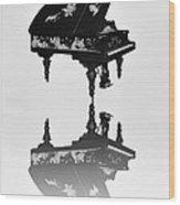 A Grand Piano Wood Print