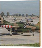 A Hellenic Air Force T-2 Buckeye Wood Print