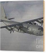 A Hercules C130j Transport Aircraft  Wood Print