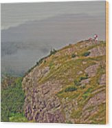 A High Point On Signal Hill National Historic Site In Saint John's-nl Wood Print