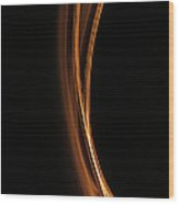 A Higher Frequency Two Wood Print