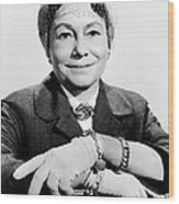 A Hole In The Head, Thelma Ritter, 1959 Wood Print