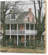 A House Is A Home Is For The Birds In New Hope Pa Wood Print
