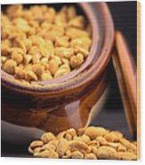 A Jar Of Peanuts Wood Print