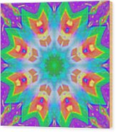 A Kaleidoscope Of Wonder Wood Print