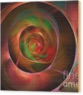 A Kind Of Inner Opalescence Wood Print