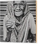 A Lady And Her Chai IIi Wood Print