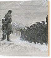 A Last Minute Reprieve Saved Fyodor Dostoievski From The Firing Squad Wood Print