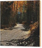 A Leisure Drive Wood Print