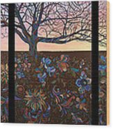 A Life's Journey Wood Print by James W Johnson