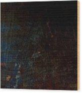 A Little Blue Wood Print