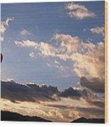 A Lone Flight Wood Print by Glenn McCarthy Art and Photography