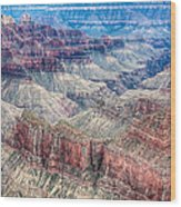 A Look Into The Grand Canyon  Wood Print