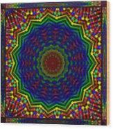 A Love Of Kaleidoscopes Wood Print