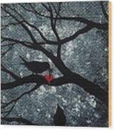 A Love Story No 7 Wood Print