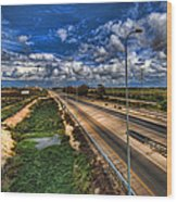 a majestic springtime in Israel Wood Print
