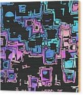 A Maze Zing - 03c01 Wood Print