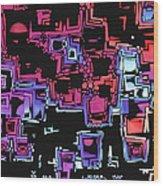 A Maze Zing - 03c07 Wood Print