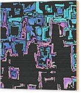 A Maze Zing - 01c01 Wood Print