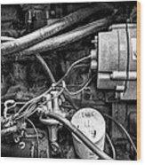 A Mechanic's View Wood Print