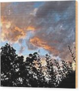 A Memorable Sky Wood Print