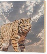 A Mighty Hunter Wood Print