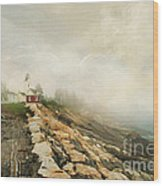 A Morning In Maine 2 Wood Print by Darren Fisher