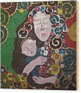 A Mother's Lullaby Wood Print