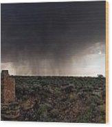 A Navajo 'male' Rain Wood Print