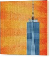 A New Day - World Trade Center One Wood Print
