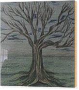 a New Start Wood Print