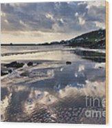 A November Afternoon At Lyme Regis Wood Print