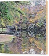 A November Memory 2012 - L Wood Print