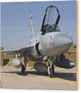 A Pakistan Air Force Jf-17 Thunder Wood Print