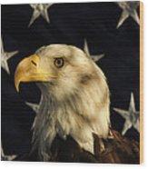 A Patriot Wood Print