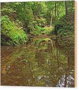 A Peaceful Glen Wood Print